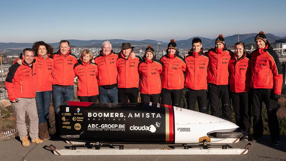 Belgian Bullets bobsleigh team Olympic